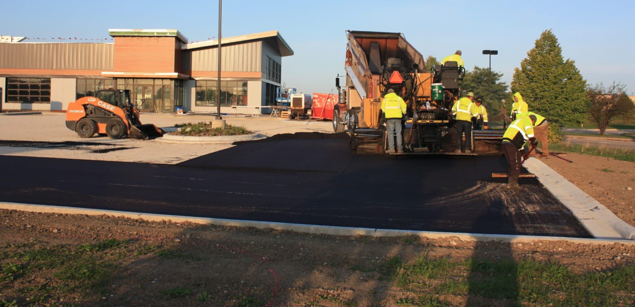 asphalt paving in kenosha, kenosha asphalt paving company, asphalt paving and maintenance