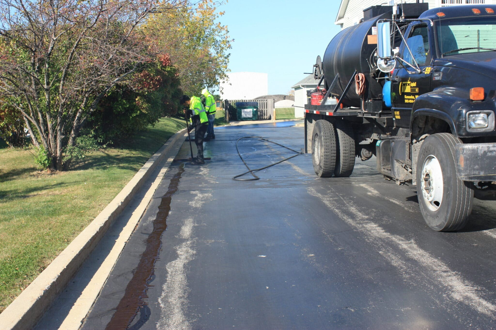 asphalt crack filling kenosha, kenosha asphalt crack filling, asphalt maintenance in kenosha